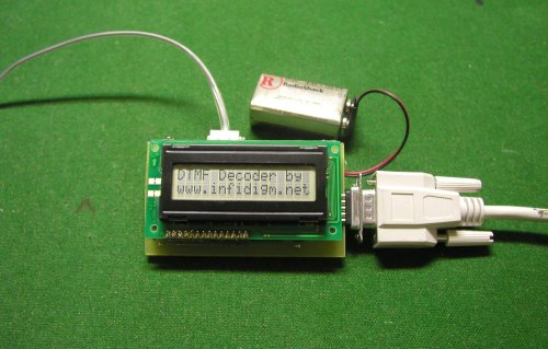 DTMF Decoder with LCD Display