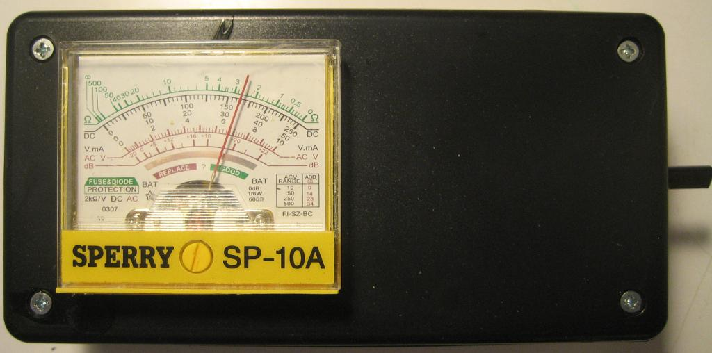 Wideband RF Field Strength Meter