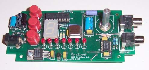 10MHz DDS Sine/Square Function Generator with AD9835