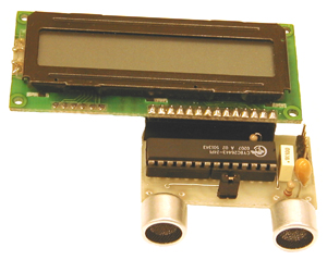 Ultrasonic PSoC Range Finder